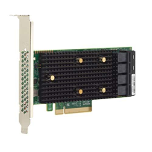 Broadcom 05-50008-00 HBA 9400-16i Speicher-Controller - Plug-in-Karte - Low-Profile schwarz