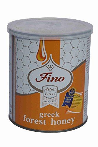 Honig Attiki Fino Wildblumen und Bäumen 1kg Dose griechischer Waldhonig reich aromatisch Honey Greece Athen Griechenland