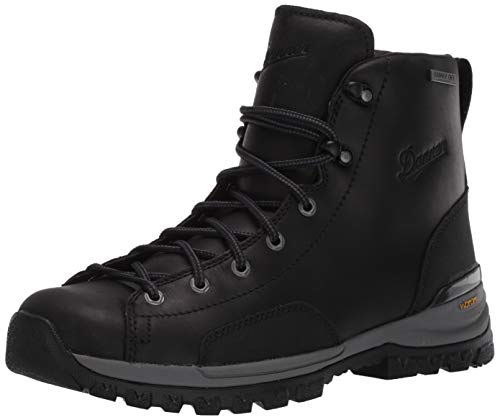 "Danner Women's Stronghold 5"" Construction Boot, Black, 9 M US"