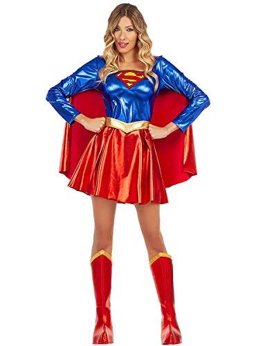 Funidelia | Disfraz de Supergirl Sexy Oficial para Mujer Talla XXL ▶ Kara Zor-El, Superhelden, DC Comics
