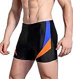 WHCREAT Bañador de Natación para Hombre Pantalones Cortos Protección UV Resistente al Cloro,...