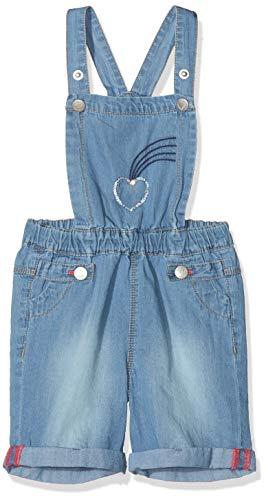 s.Oliver Baby-Mädchen 65.804.72.5364 Latzhose, Blau (Blue Denim Non Stretch 54y7), 86