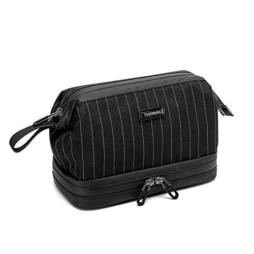 Compression Packing Cubes Bags,Portable storage bag dry and wet separation travel storage bag-Stripe AR,Packing Cubes Suitcase Organiser Packing Bags