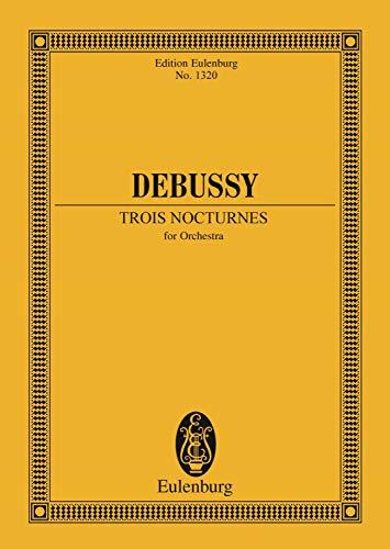 3 Nocturnes: for 2 Violins, Viola and Violoncello, Op. 10 (Eulenburg Studienpartituren)