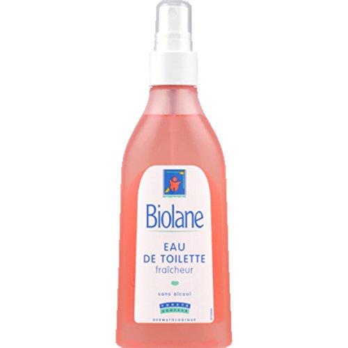 Biolane - Eau de toilette fraîcheur, sans alcool - Le spray de 200ml - (pour la quantité plus que 1 nous vous remboursons le port supplémentaire)