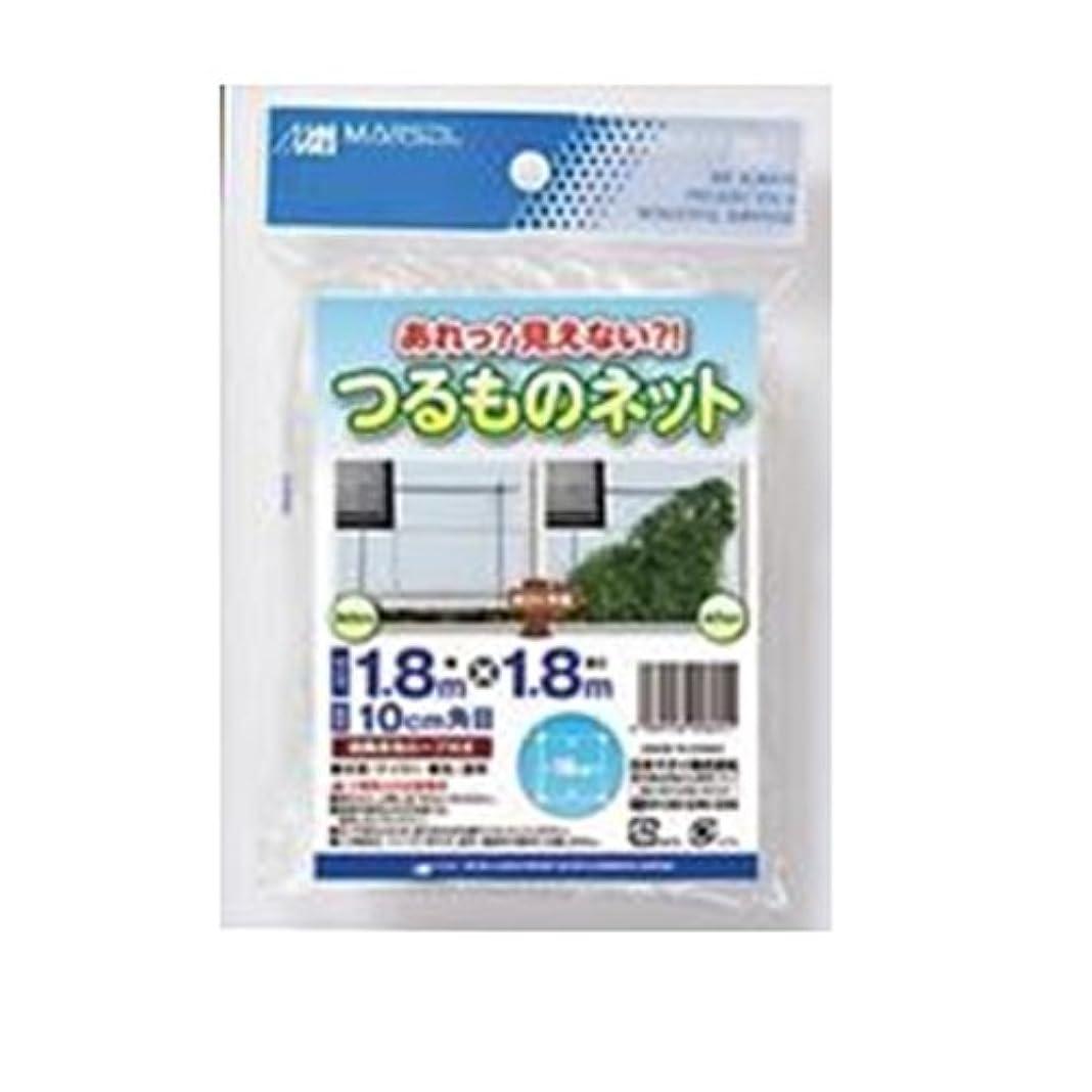 本気推論ルアー日本マタイ つるものネット透明 10cm角目 1.8×1.8m