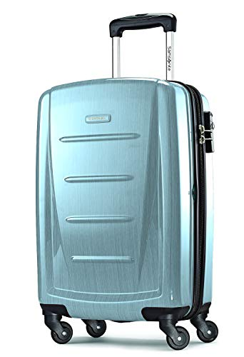 Samsonite Winfield 2 Hardside Expandable Luggage with Spinner Wheels, Ice Blue, Carry-On 20-Inch