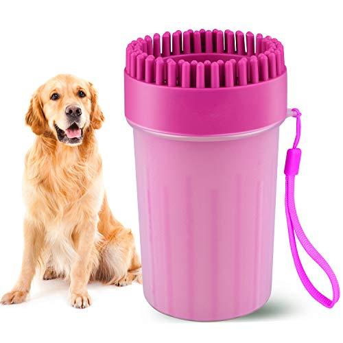 Beinhome Haustier Pfoten Reiniger, Hunde Pfotenreiniger Dog Paw Cleaner Tragbarer Hundepfoten...