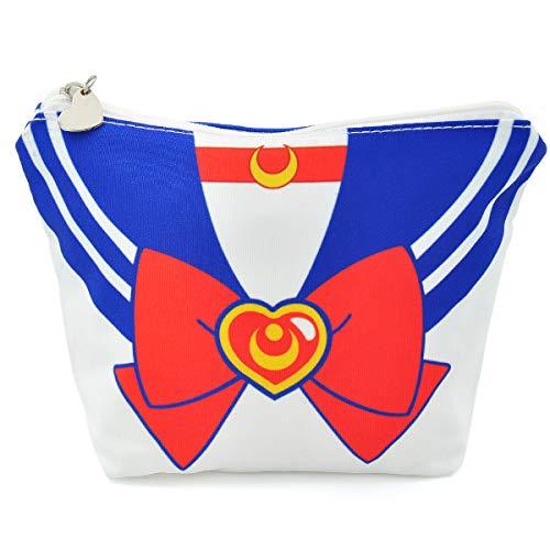CoolChange Trousse per i trucchi o astuccio in design da uniforme di Sailor M, azzurro, Bunny Tsukino
