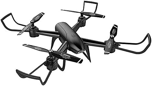 DCLINA Drone 4K EIS con Fotocamera UHD per Adulti Quadcopter GPS Facile per Principianti Trasmissione FPV a 5 GHz Ritorno Automatico a casa con gesti Foto Video Corpo Pieghevole