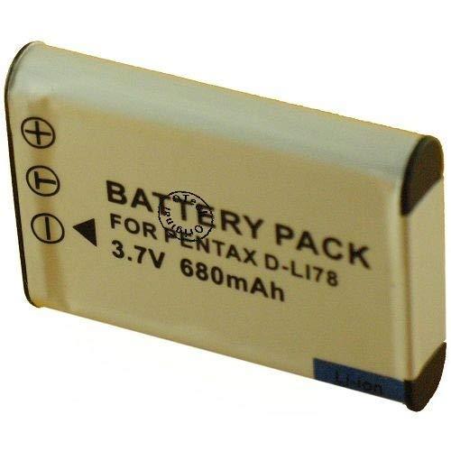 Batería para cámara de fotos Pentax OPTIO W60