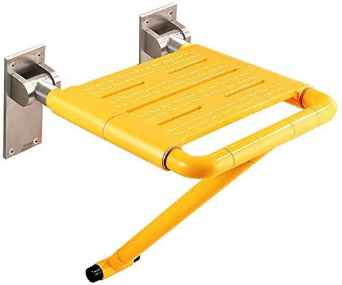 Wghz Asiento de Ducha de Pared sillas de Ducha sillas de Ducha para discapacitados sillas de Ducha para Embarazadas taburetes de baño de Aluminio Antideslizantes para Personas Mayores