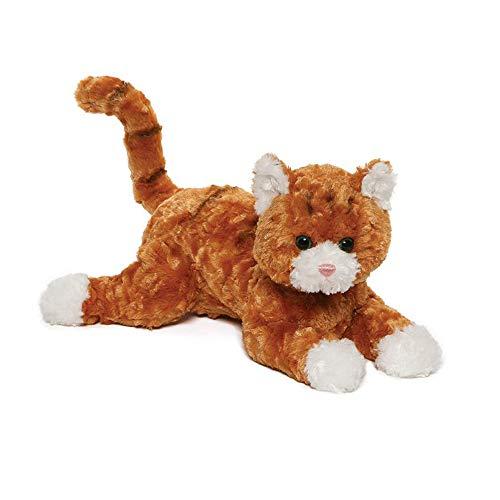 GUND Tabby Plush Stuffed Cat, Orange/White, 14''' (4061317)