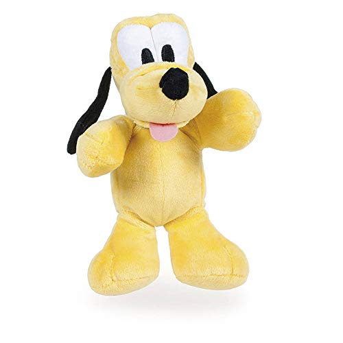 "Disney Famosa Softies - 7'87""/20cm Peluche Mickey Minnie Donald Pluto - Calidad Super Soft (Pluto)"