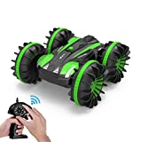 Tuptoel Rc Car, Water&Land 2 in 1 Remote Control Car Waterproof RC Truck 2.4Ghz 4WD Off Road Tank...