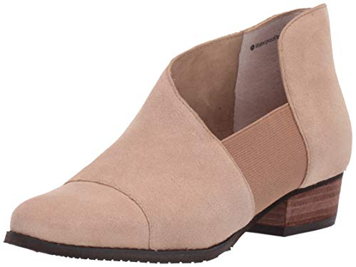 Blondo Women's IZZYS Shoe, Sand Suede, 6.5 Medium US