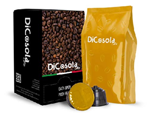100 Capsule Compatibili Dolce Gusto Gusto Cremoso DiCosola Caffe'