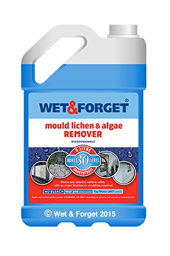 Wet & Forget - Moss Mould Lichen & Algae Remover (5 Litre)