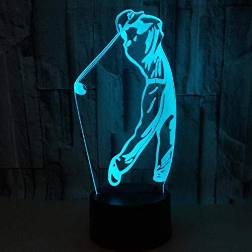 3D LED Farbe Acryl NHL Eishockey Club Sport Spieler Match Golf Nachtlicht LED Tischlampe Schlafzimmer Dekoration Kinder Geschenk