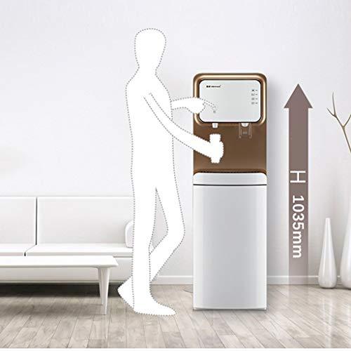 Dispensador de agua de carga inferior Calentador rápido Dispensador de enfriador de agua independiente, agua fría y caliente, cerradura de seguridad for niños, for el hogar y la oficina