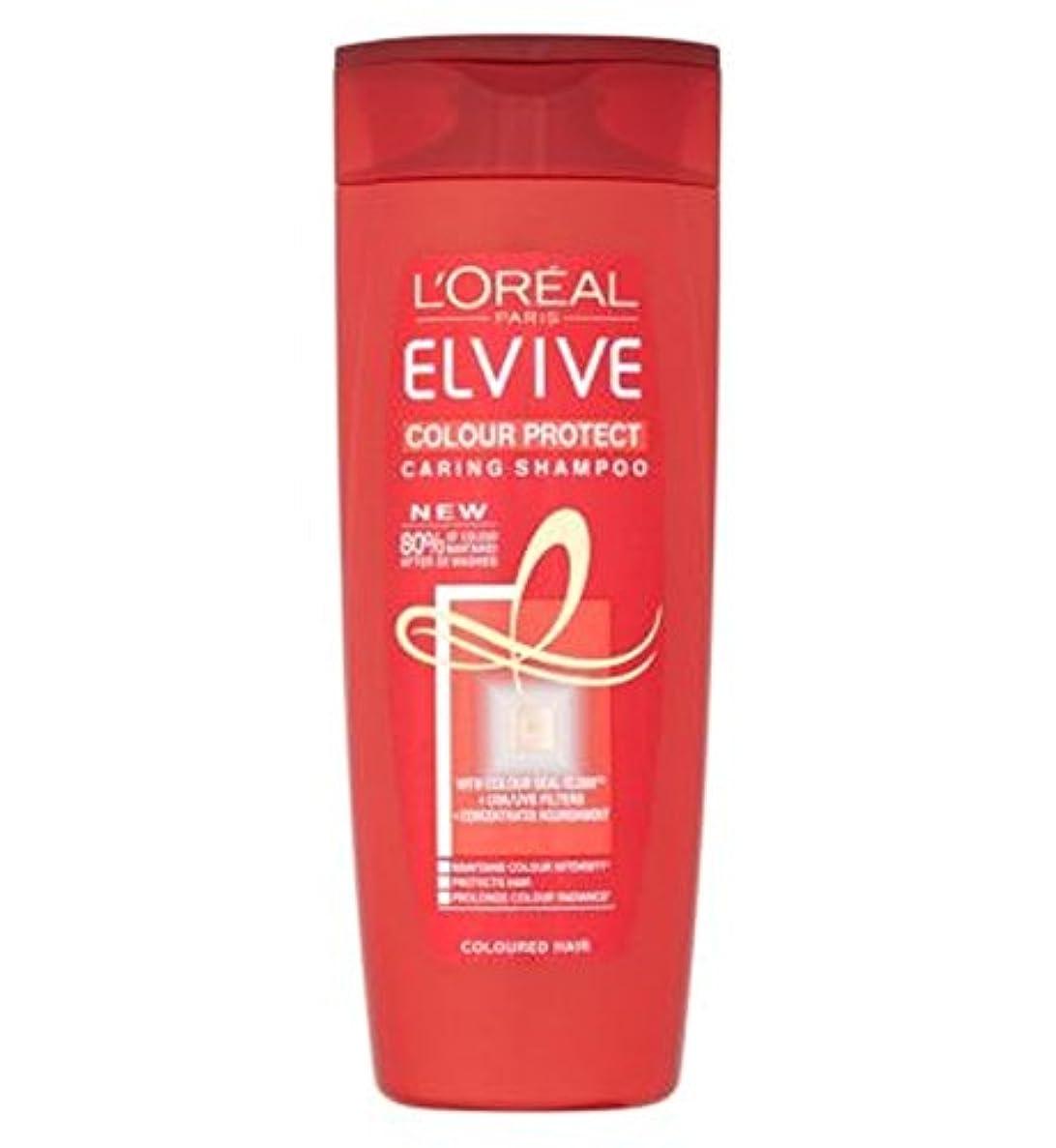 南東繰り返すプロットL'Oreall Elvive Colour Protect Caring Shampoo 400ml - L'Oreall Elvive色思いやりのあるシャンプー400ミリリットルを保護 (L'Oreal) [並行輸入品]
