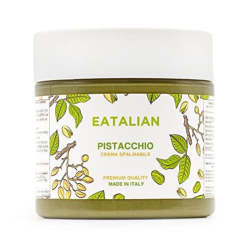 EATALIAN by AMZ BETTER Crema di Pistacchio Spalmabile 200 grammi, Crema di Pistacchi Naturale &...