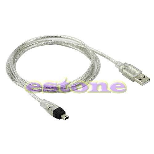 NOWON Nuevo Cable Adaptador iLink de 4 Pines USB a Firewire iEEE...