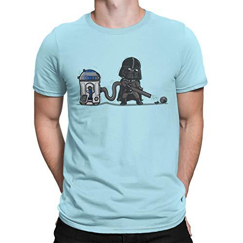 Camisetas La Colmena 2122-Parodia Robotic Hoover Donni (Donnie)