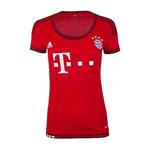 adidas FC Bayern Munich Home Womens Jersey-FCBTRU (L)