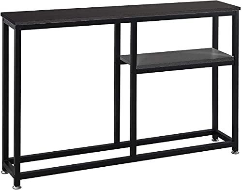 SogesPower Konsolentisch Flur Lagerregale Dielentisch mit Regal Wohnzimmer Schlafzimmer Schreibtisch...