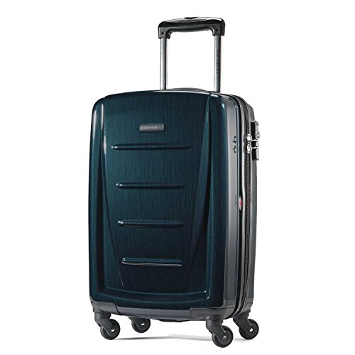 Samsonite Winfield 2 Hardside Expandable Luggage with Spinner Wheels, Teal, Carry-On 20-Inch