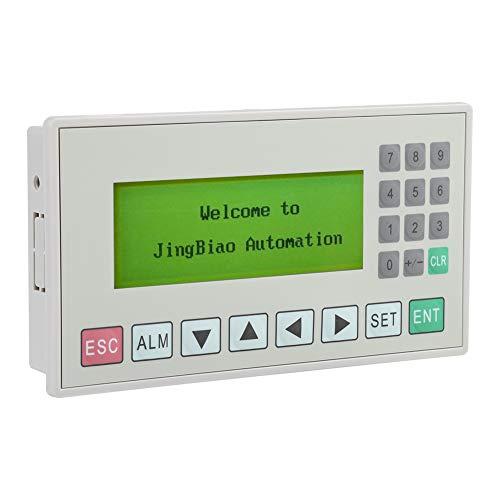 Pantalla de Texto, OP320-A Módulo de Pantalla de Texto de 3,7'HMI Pantalla LCD Compatible con comunicación S485 / RS232 para Control PLC, resolución de 192 x 64