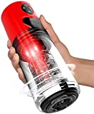 Male Massager Cup with Modes Suction and Vibration Massage Vacuum Pump Tool, Men's Pennis Sucking Device for Boyfriend Husband Pleased Underwear for ManToys,T-Shirt,89