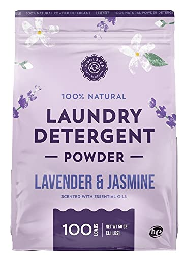 Product Image of the Woolzies 100% Natural Laundry Detergent soap Scented with Pure Essential Oils, Good for All washers (Lavender)