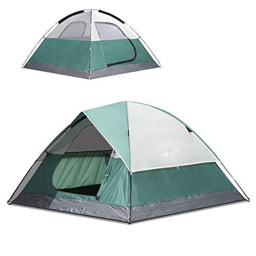 SEMOO 2-3 Person Dome Family Camping Tent, Waterproof and Convenient to Fold, Lightweight with Carry Bag for Outdoor Use