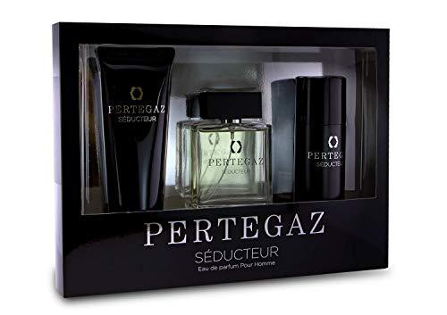 Pertegaz Saphir Parfums, Kit Para Baños - 3 Unidades, color Estándar, Único, 100 ml