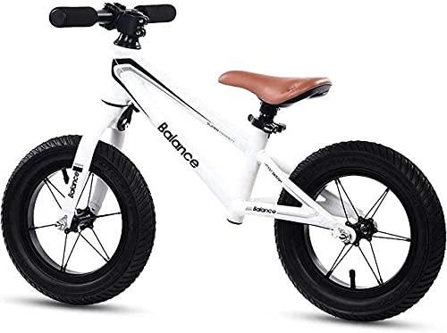 DRAGDS Bicicleta de Equilibrio, Bicicleta de Equilibrio para Niños sin Pedal de Bicicleta para 2-6 Años de Edad, Bicicleta de Empuje de Balance de 12'Con 12 Pulgadas Ajustable de Altura 12 Pulgadas,