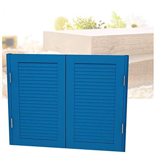 Cafe Puertas Puertas Batientes De Cafe Cafe Puertas Puertas Batientes De Cafe, Madera Maciza Puerta Del Café Para La Entrada De La Cocina Del Bar Cafetería Abierto De Dos Vías Bisagra Incluida Azul