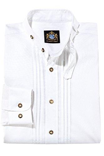 Hammerschmid 14111 Herren Trachtenhemd Weiss Größe 39