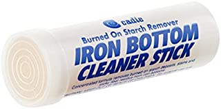 Steam Iron Bottom Cleaner Stick – Removes Build-Up Starch, Melted Fabric, Glue from Hot Iron – Eliminates Sticky Residue On Any Iron Soleplate on the Market - Easy to Use – 1 Pack