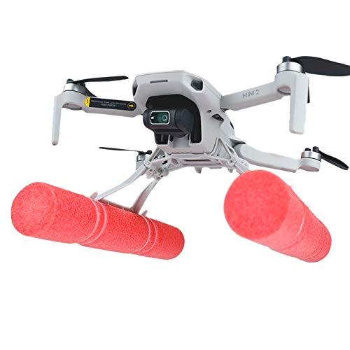 O'woda Mini 2 Carrello di Atterraggio per Drone + Barra di Galleggiamento, Supporto Gambe di Estensione Pieghevole Landing Gear Dispositivo Galleggiante per DJI Mavic Mini/ Mavic Mini 2 Accessori