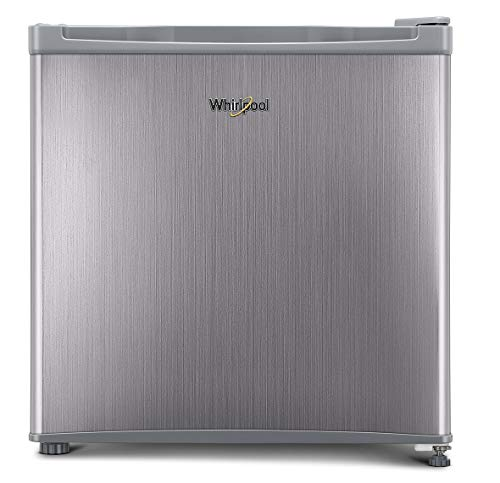 Whirlpool 46 L 3 Star (2019) Mini Refrigerator with Toughened Glass Shelves (65 W-ATOM PRM 3S, Steel)