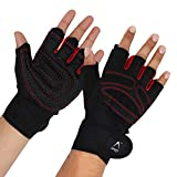 Arrowmax Spider Fitness Gym Gloves/Cycling Gloves with Wrist Support Grip and Breathable Glove...