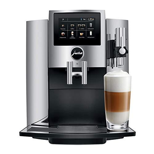 Lowest Prices! JURA S8 Automatic Coffee Machine (Chrome) (Renewed)