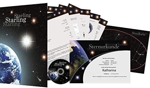 Sterntaufe Starlight - Einen echten Stern kaufen - Sterntaufe verschenken - Stern benennen