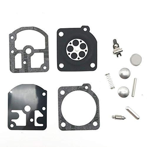 Carburador Kit de reparación de Ajuste Duradero for Stihl Echo FS160 FS180 FS220 FS280 FS290 FR220 for Zama RB-13 de la Motosierra Segadora 929