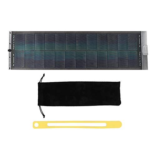 idalinya Paneles Solares MontañIsmo Al Aire Libre Cargador De Salida USB De Panel Solar Plegable Portátil Enrollable Proporciona Energía Suficiente(Ejercito Verde)