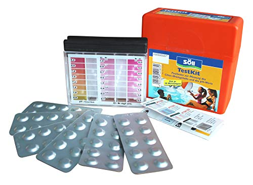 Söll – 12187 Piscine et Spa testkit Chlore (+ Ph)