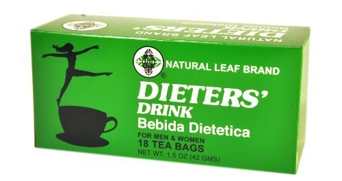 Natural Leaf Brand Dieters' Tea Drink, 18-Count by Monstra...