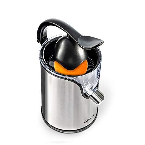 Volsteel Zitruspresse Elektrisch, 2020 Neueste Version Pro Entsafter, mit Extra Saft System, BPA frei, und Edelstahl, für Zitrus, Orange, Zitrone und saftige Frucht | CS201.
